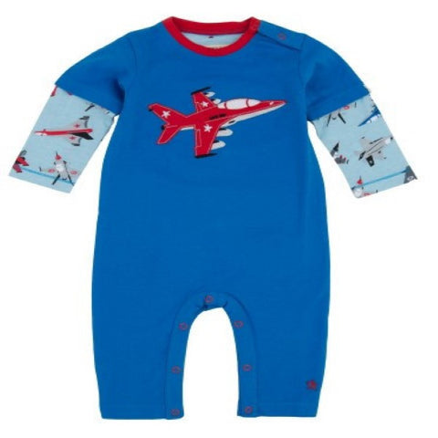 Hatley Fighter Jets Design Romper