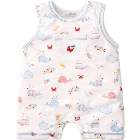 Kissy Kissy 'Whale of a Time' Romper