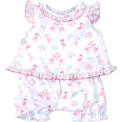 Kissy Kissy 'Flowering Flamingos' Two Piece Set