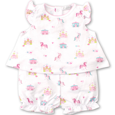 Kissy Kissy 'Unicorn Castle' Two Piece Set