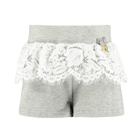 Angel's Face Girls Grey Shorts