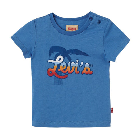 Levi's Blue Washed Design T-Shirt