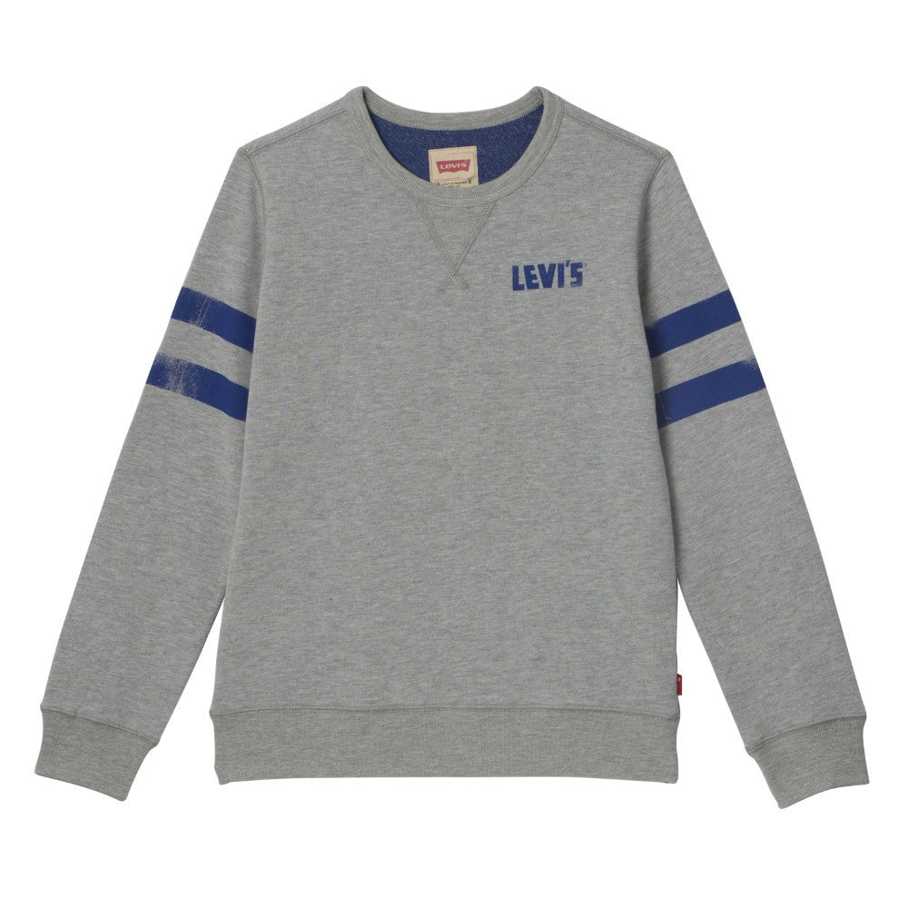 Levi's Grey & Blue Sweatshirt