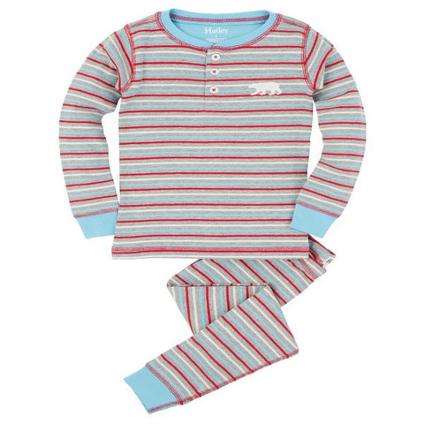 Hatley 'Icy Stripes' PJ Set