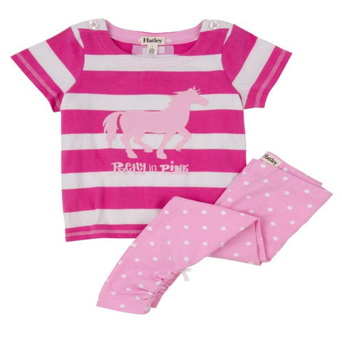Hatley 'Classic Horses' Two Piece Set
