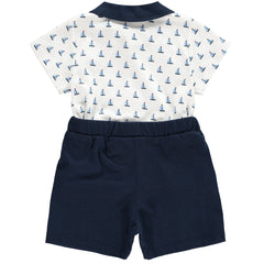 Rachel Riley Sailboat Two Piece Set