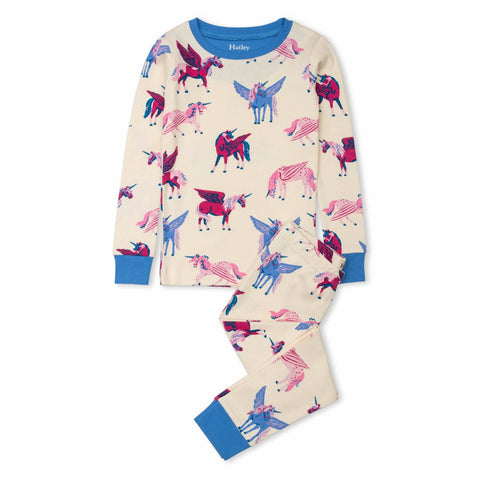 Hatley 'Mystical Unicorns' PJ Set