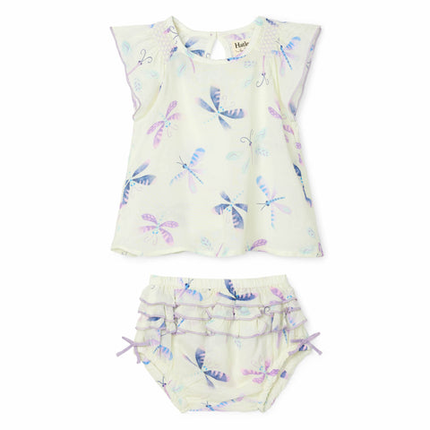 Hatley 'Painted Dragonflies' Two Piece Set