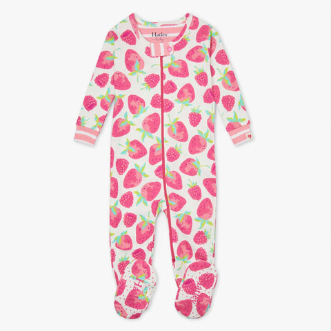 Hatley 'Delicious Berries' Babygrow