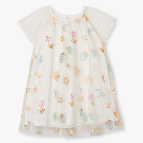 Hatley 'Party Confetti' Tulle Dress