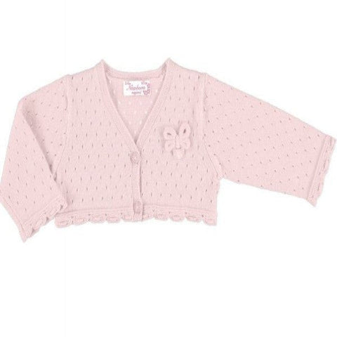 Mayoral Pink Knitted Cardigan