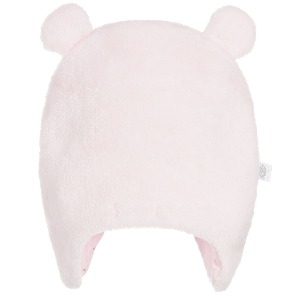 Absorba Pink Velour Hat