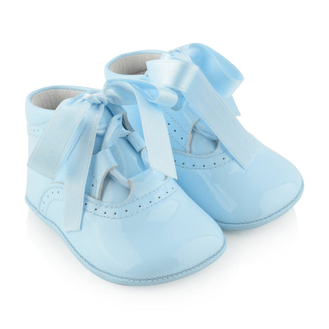 Andanines Blue Pre-Walker Shoes