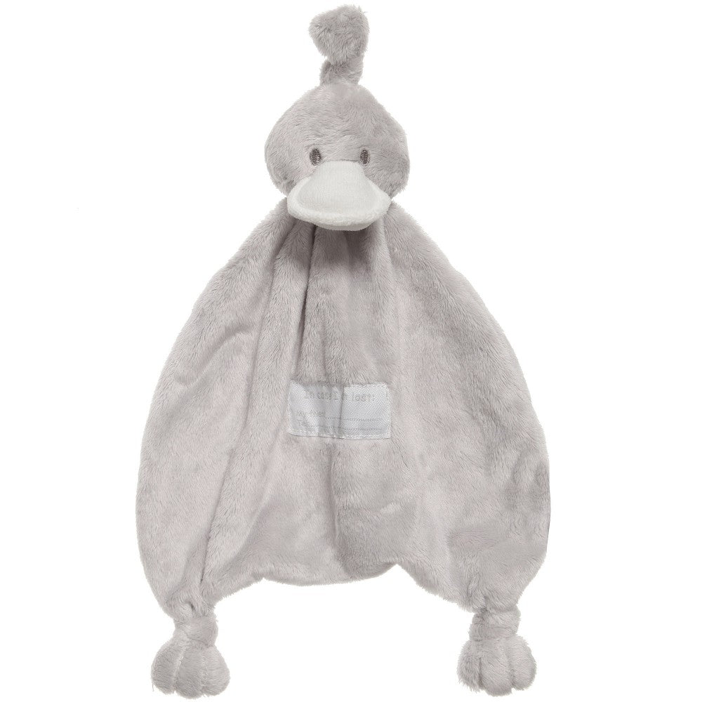 BAMBAM Grey Fleece Duck Comforter