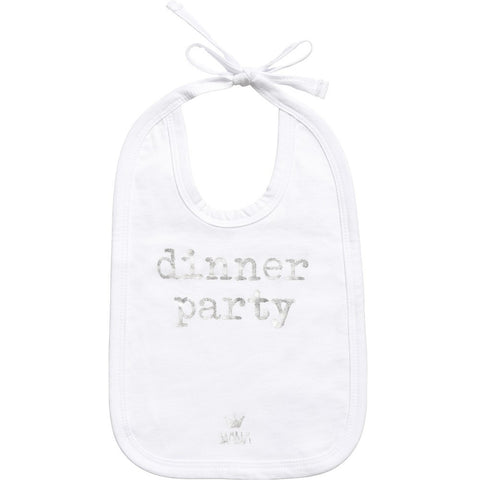BAMBAM 'Dinner Party' Bib