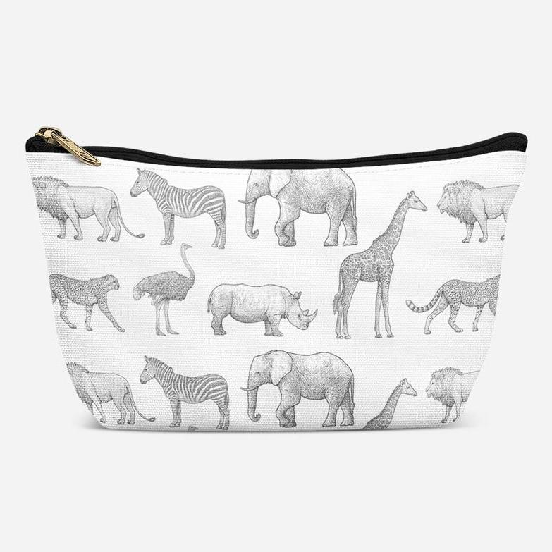Mama Shack Monochrome Safari Changing Bag Pouch