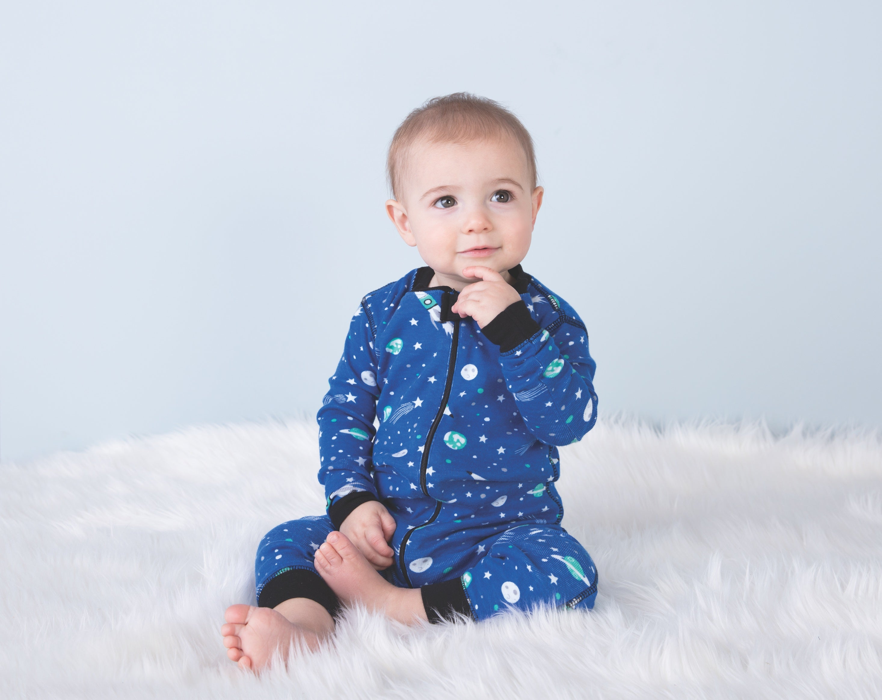 01dee0897259 Hatley  Outer Space  Boys Playsuit