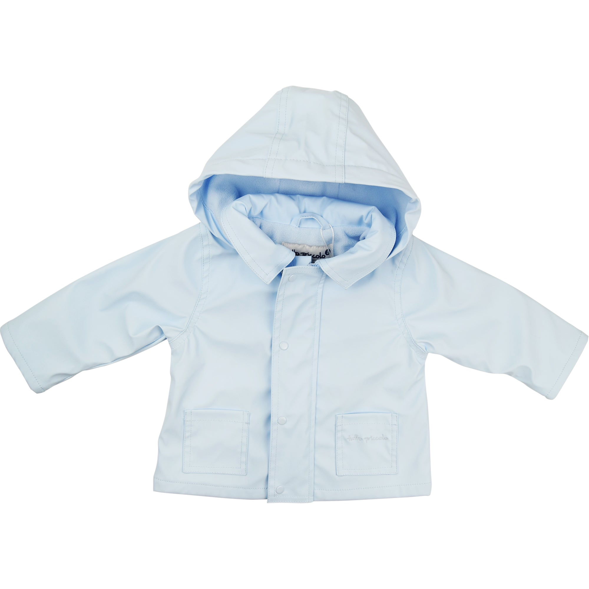 bc1fd0faf1f7 Tutto Piccolo Blue Raincoat