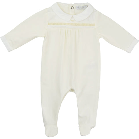 Patachou Cream Babygrow