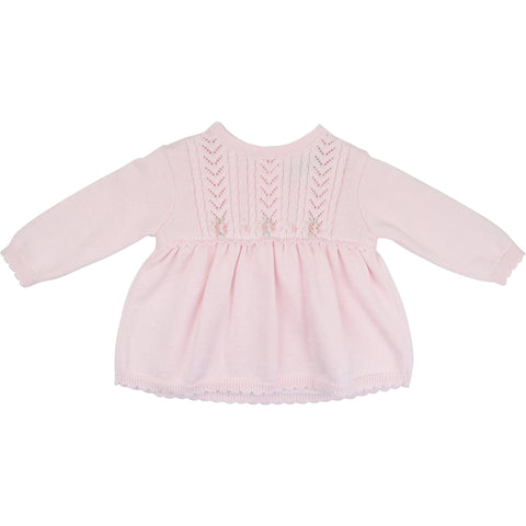 Sarah Louise Pink Knitted Dress