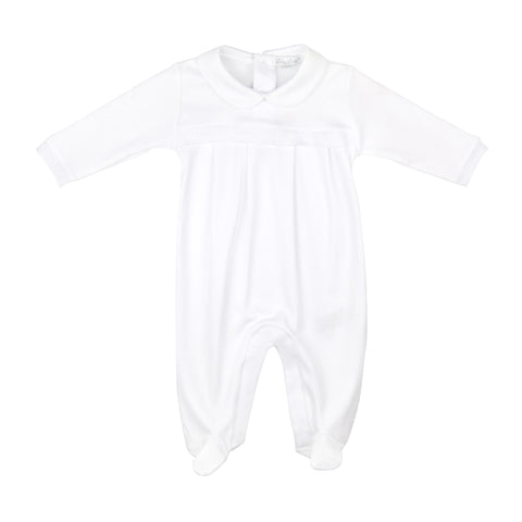 Kissy Kissy White 'Homecoming' Babygrow