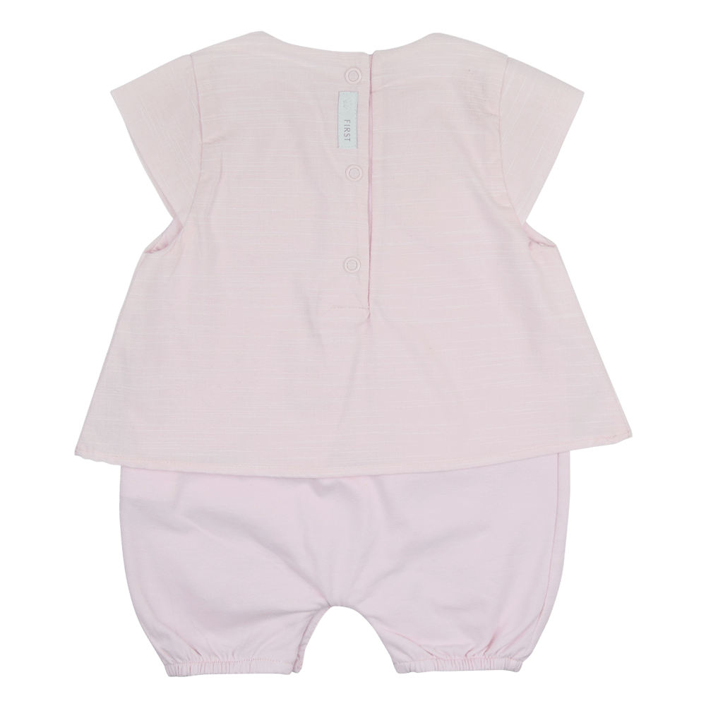 First Girls Pink Romper