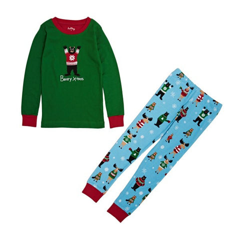 Hatley 'Beary X-Mas' PJ Set