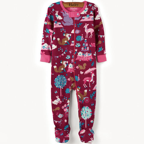 Hatley 'Animal Tea Party' Babygrow