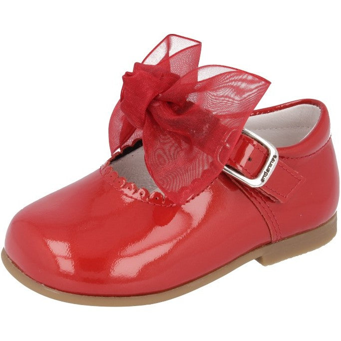 Andanines Pearlised Red Shoes