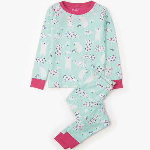 Hatley 'Arctic Party' PJ Set