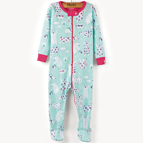 Hatley 'Arctic Party' Babygrow