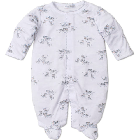 Kissy Kissy Grey 'Leopard Love' Babygrow
