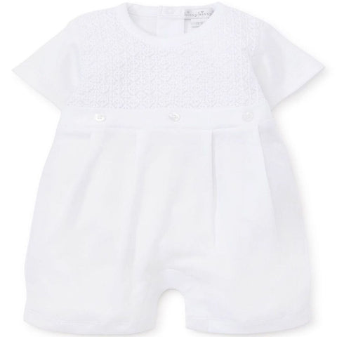 Kissy Kissy 'First Impressions' White Romper