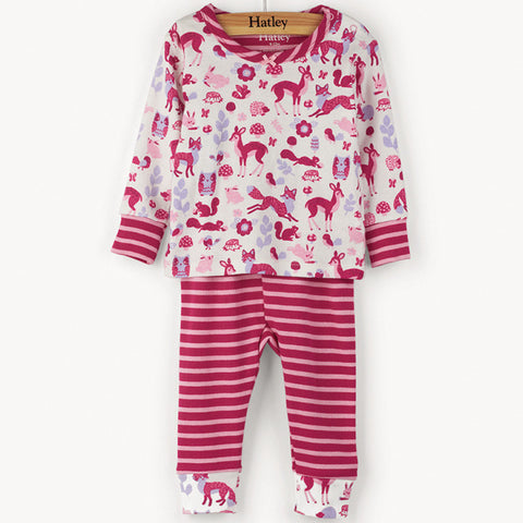 Hatley 'Woodland Creatures' PJ Set