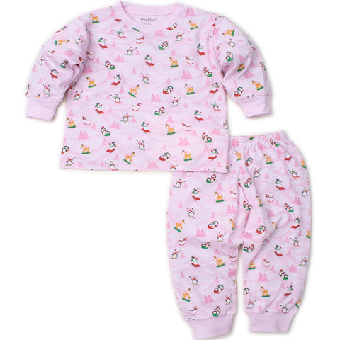 Kissy Kissy 'Frosty Friends' Pink PJ Set