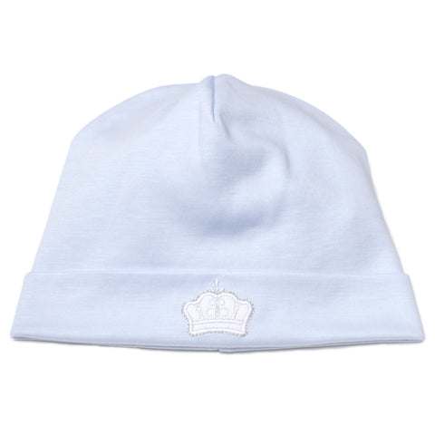 Kissy Kissy 'Pique Royalty' Blue Hat