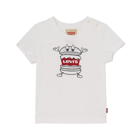 Levi's Burger Design Short Sleeved T-Shirt