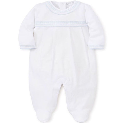 Kissy Kissy Blue 'Homecoming' Babygrow