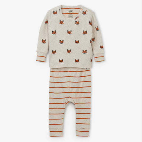 Hatley 'Clever Fox' PJ Set