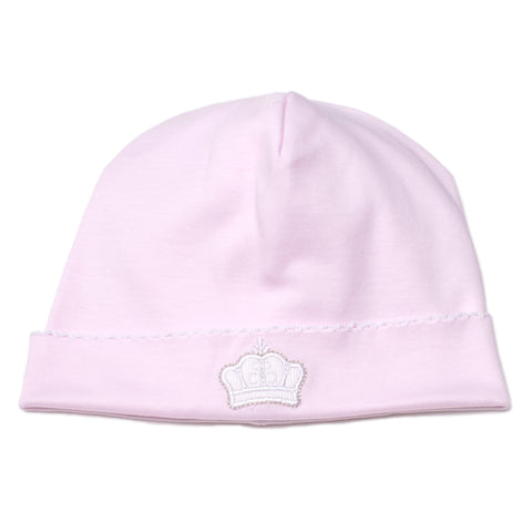 Kissy Kissy 'Pique Royalty' Pink Hat