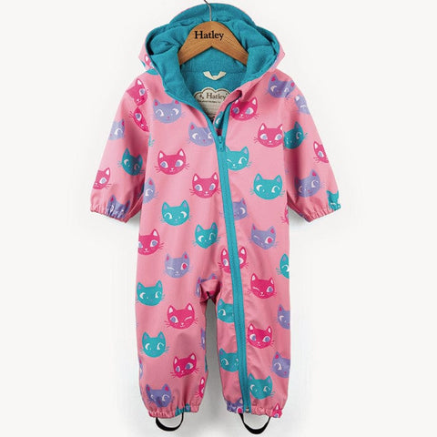 Hatley 'Silly Kitties' Rain Bundler
