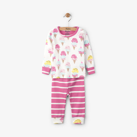 Hatley 'Ice Cream Treats' PJ Set