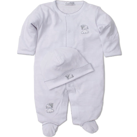 Kissy Kissy 'Counting Sheep' Babygrow with Hat