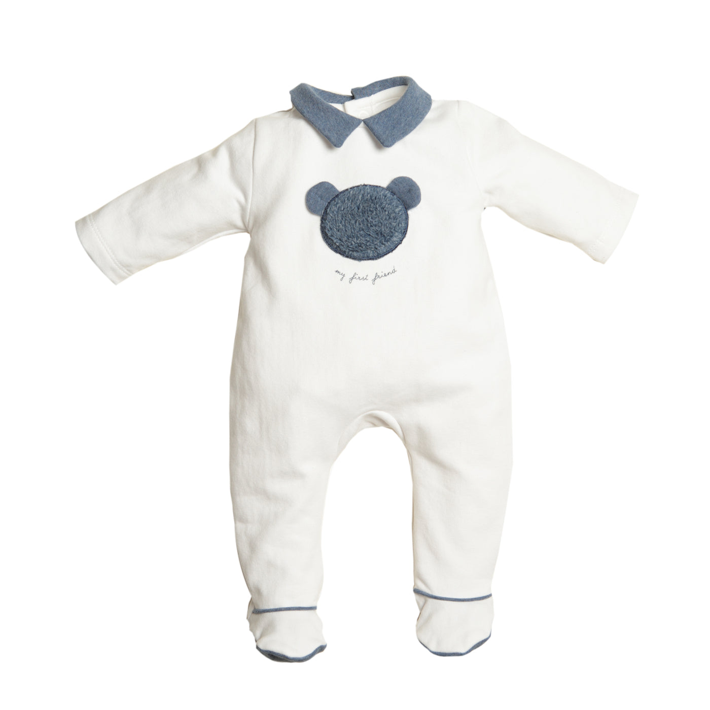First Blue Bear Design Babygrow