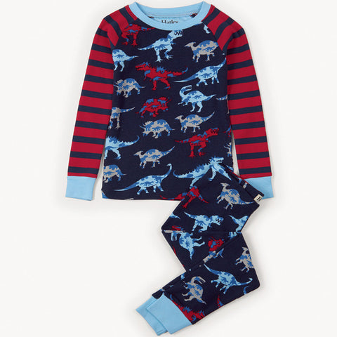 Hatley 'Lot's of Dino's' PJ Set