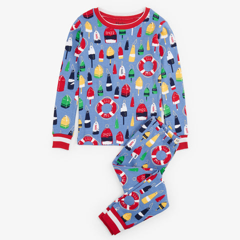 Hatley 'Distressed Buoys' PJ Set