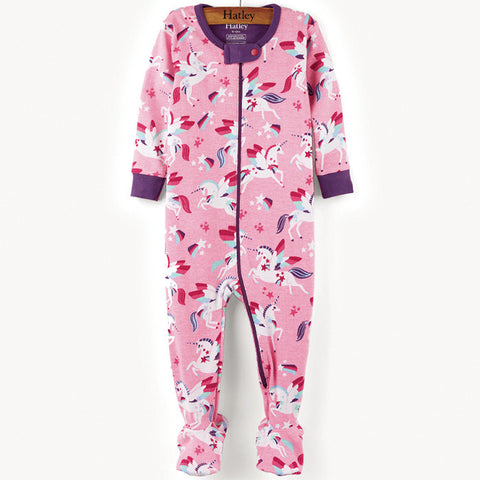 Hatley 'Rainbow & Unicorns' Babygrow
