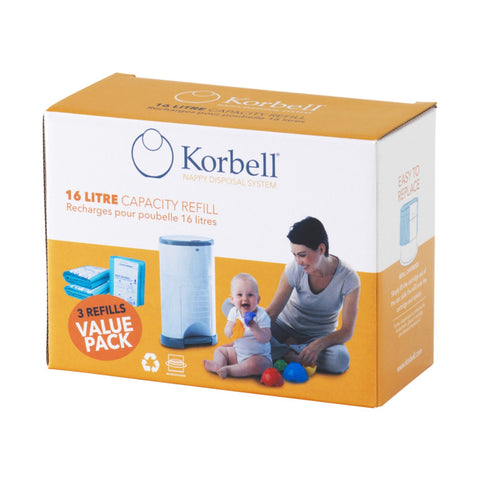 Korbell Nappy Disposal System - refill sacks