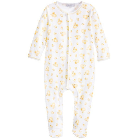 Magnolia Baby 'Little Quacker' White & Yellow Babygrow