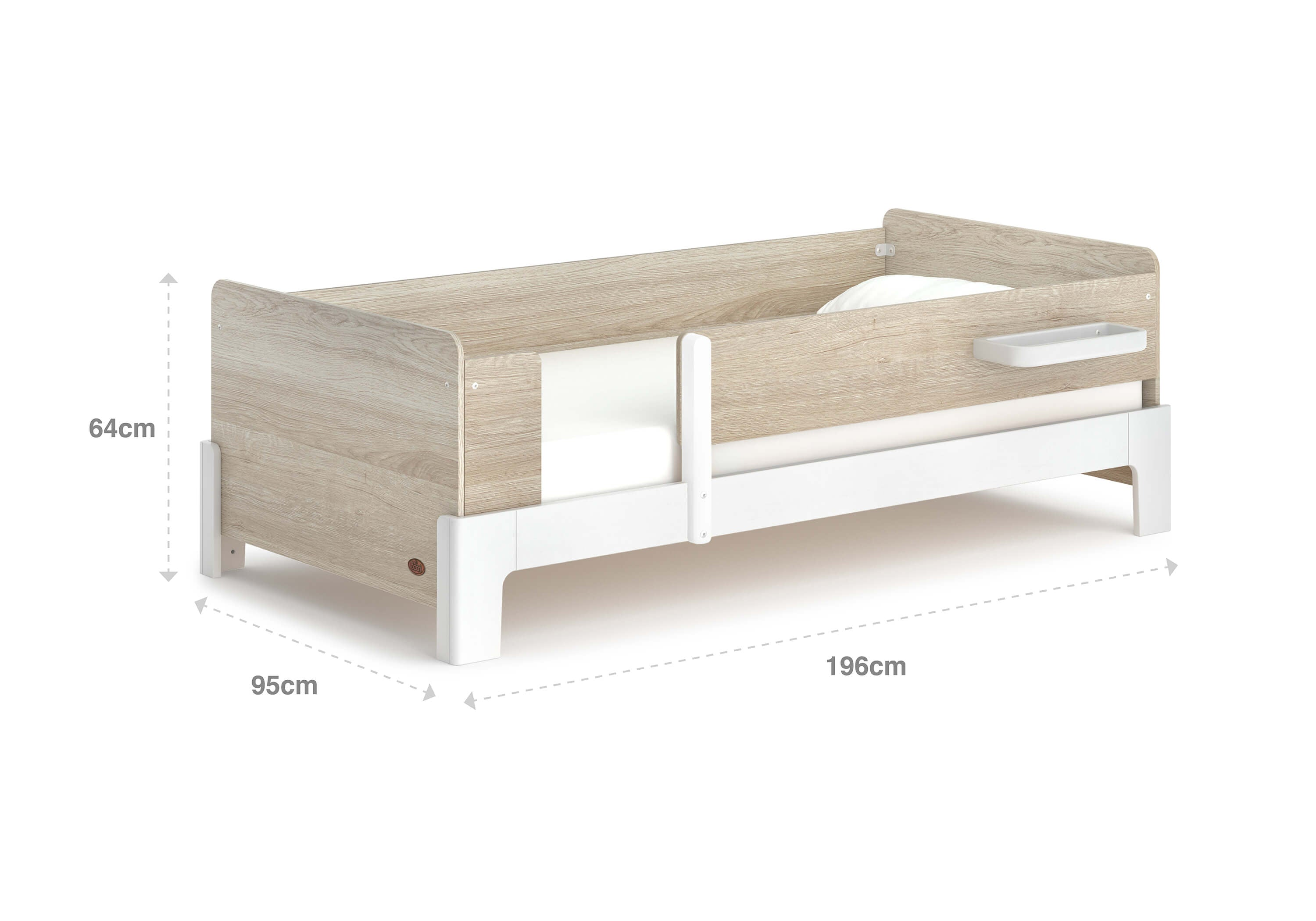 Boori Natty Guarded Single Bed